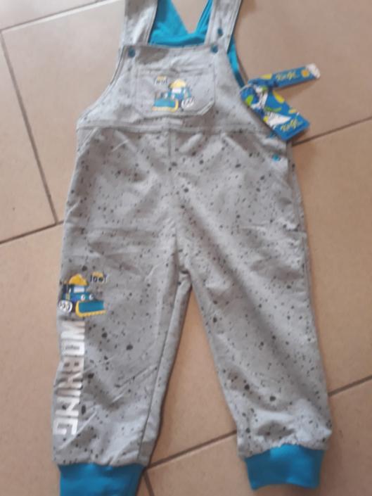 KUGO, krtečkové kalhoty šedé