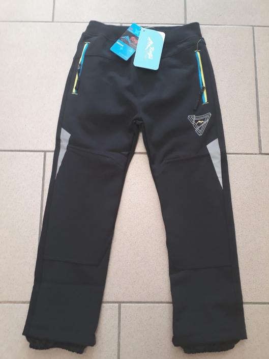 KUGO, chlapecké softshellové kalhoty
