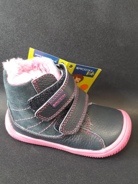 PROTETIKA, zimní dívčí obuv, Barefood