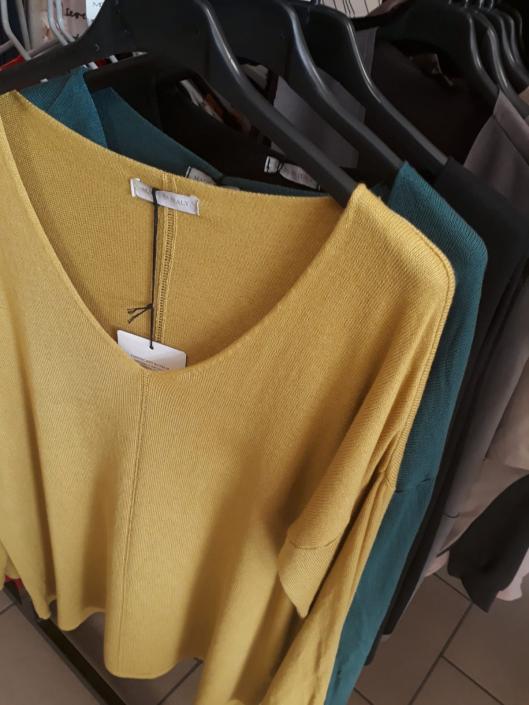 Italská móda, příjemné svetry (delší střih)