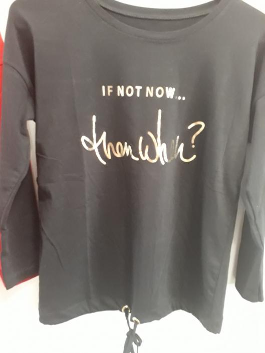 Italská móda, dámské triko s tkaničkou