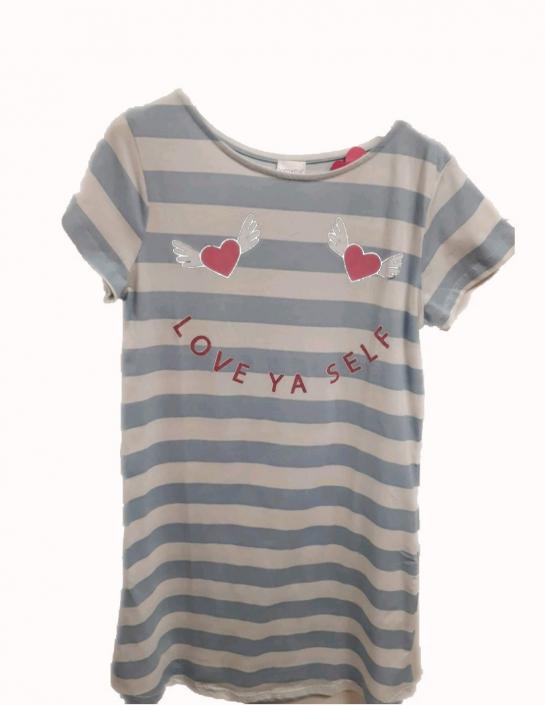 CALVI, dámská noční košile LOVE YA SELF